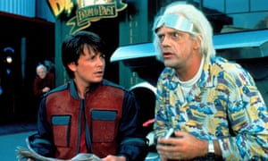 Great Scott! It's only Back to the Future day, 21 October 21 2015.