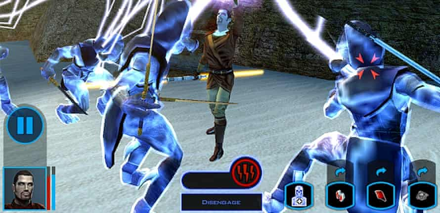 Star Wars: Knights of the Old Republic.