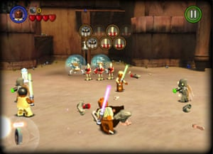 Lego Star Wars: The Complete Saga.