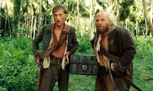Buried treasure: in 'Pirates of the Caribbean: Dead Man's Chest'.