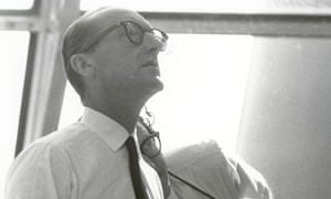 George Mueller following the progress of the Apollo 11 mission