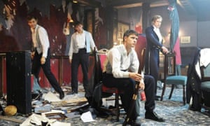 'People won't cast me as taxi driver number 3': in a scene from The Riot Club.