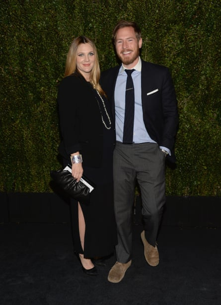 Drew Barrymore with her husband, Will Kopelman