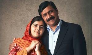 Malala Yousafzai and her father, Ziauddin
