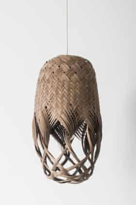 Louise Tucker woven maple light
