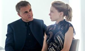 Christoph Waltz and Léa Seydoux in Spectre.