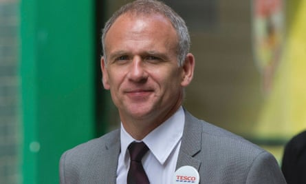 Scrapping 30,000 products ... Tesco chief executive Dave Lewis is streamlining the supermarket experience