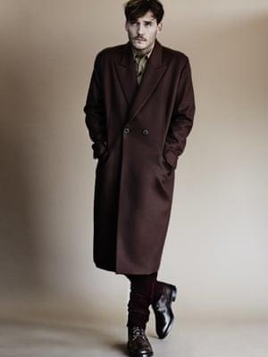 Coat paulsmith.co.uk Shirt prada.com Trousers burberry.com Boots trickers.com