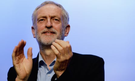 Challenging the rhetoric of choice ... Jeremy Corbyn. Photograph: Mary Turner/Getty Images
