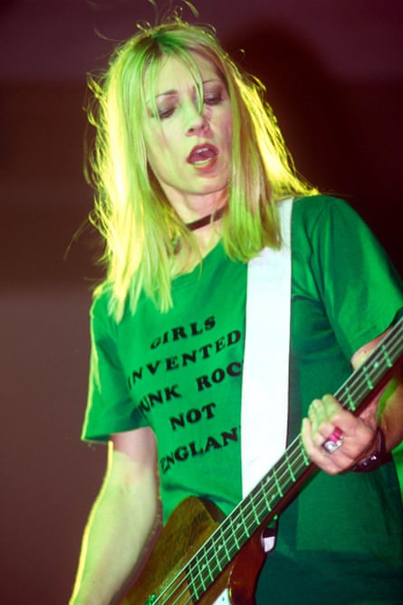Kim Gordon in 1996