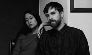 Ex-Hermès designer Christophe Lemaire with Sarah-Linh Tran.