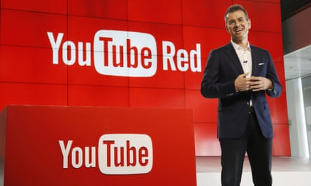 YouTube chief business officer Robert Kyncl at the YouTube Red launch in Los Angeles.