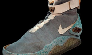 Marty McFly's original power-lacing trainers from 1989's Back to the Future 2