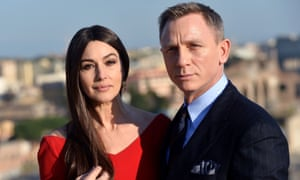 Don't ex-Spectre much ... Monica Bellucci plays one of James Bond's conquests in his latest adventure.