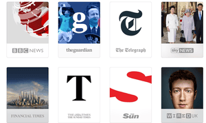 Apple News will include content from the Telegraph, Guardian and Times in the UK