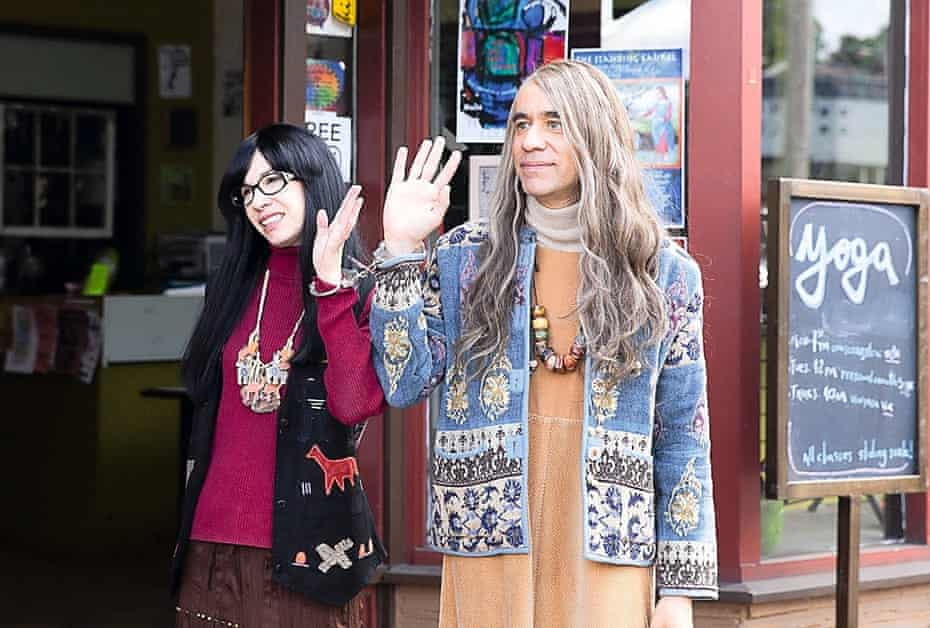 Carrie Brownstein with Fred Armisen in Portlandia
