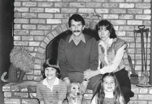 carrie brownstein with her mother, father and sister