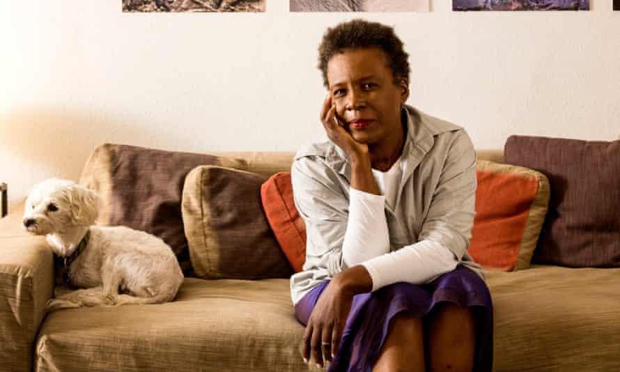 Jamaican-born poet Claudia Rankine: her book Citizen explores racism in western society.