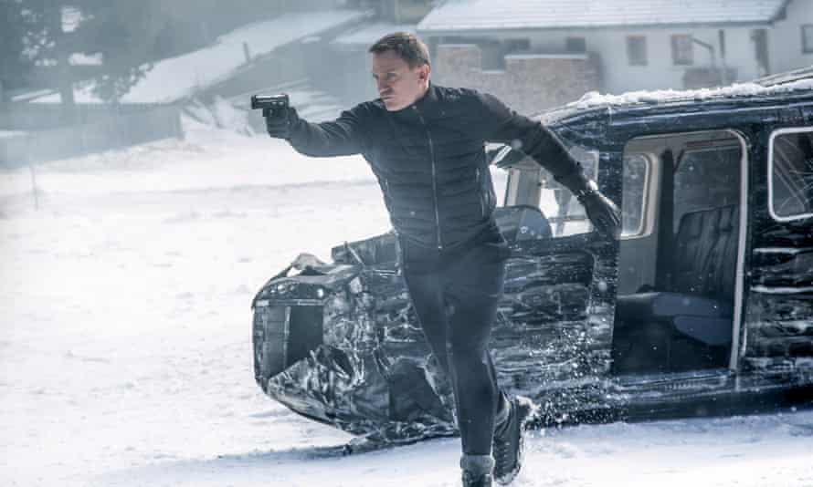 Whose dream are we in? Daniel Craig takes aim in Spectre.