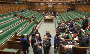 MPs voting on EVEL plans