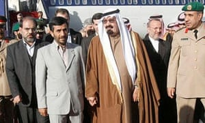 President Mahmoud Ahmadinejad and King Abdullah bin Abdulaziz in 2012