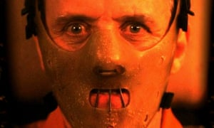 Anthony Hopkins in Silence of the Lambs.