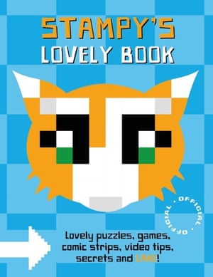 Stampy's Lovely Book is Garrett's first official book.