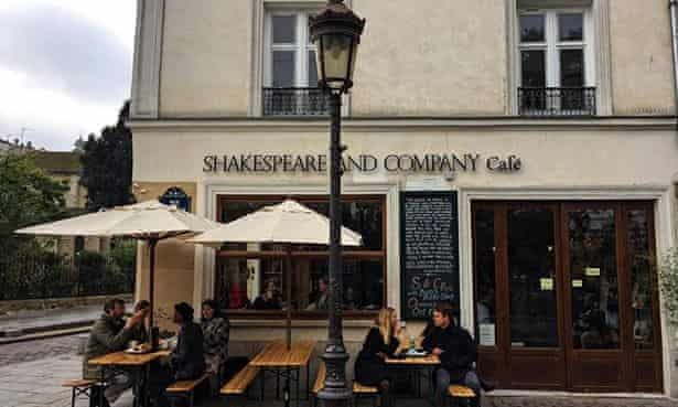 Shakespeare and Company's new cafe