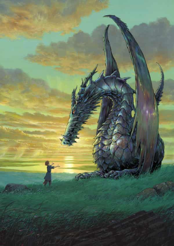 An illustration from the 2005 film adaptation, Tales from Earthsea