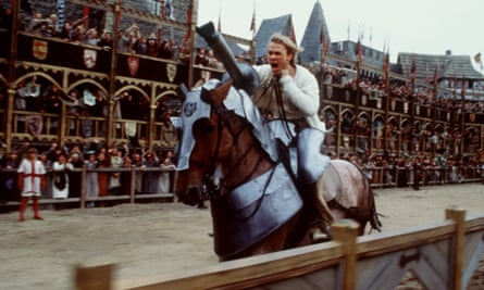 Heath Ledger in A Knight's Tale. Photograph: Egon Endreyni/AP