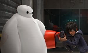 Inflatable 'soft robots' like Baymax may be used in