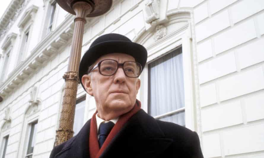 Alec Guinness as George Smiley in John Le Carré's spy drama, Smileys People (1982). Photograph: BBC