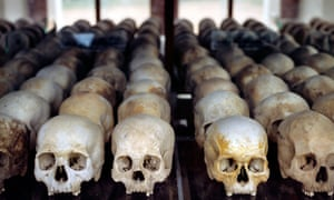 'Sacred bones': skulls mark Pol Pot's killing fields.