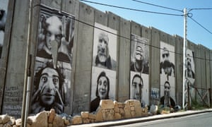 'Unlikely source of humour': Face2Face in Bethlehem by French artist JR.