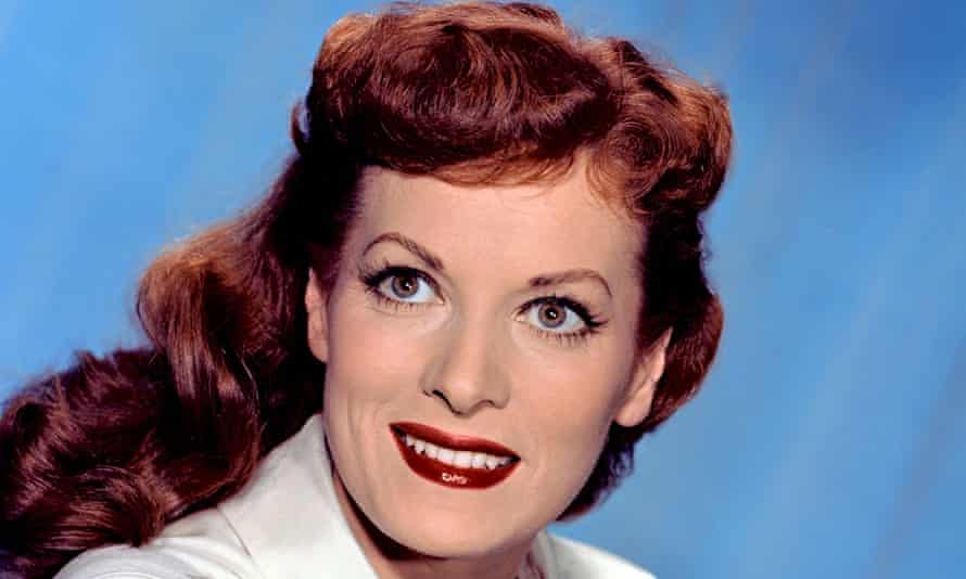 Maureen O'Hara in 1955. Her career began when she joined Dublin's Abbey theatre at the age of 14. Photograph: Everett Collection/Rex Feature
