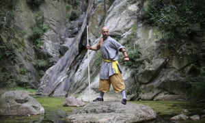 Want to be a kung fu master? Stand on your head for hours