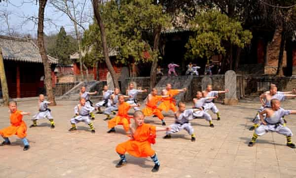 Shaolin temple training