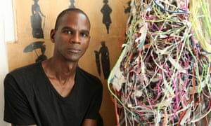 Artist Mark Bradford opened Art + Practice in LA's Leimert Park Village, a historic African American neighbourhood that has seen many businesses dry up in recent years.
