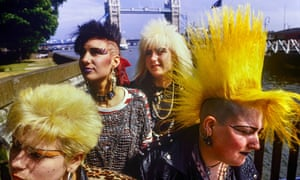 punk rockers london 1985