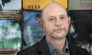 Nick Hornby, photographed by Miriam Douglas for Observer New Review