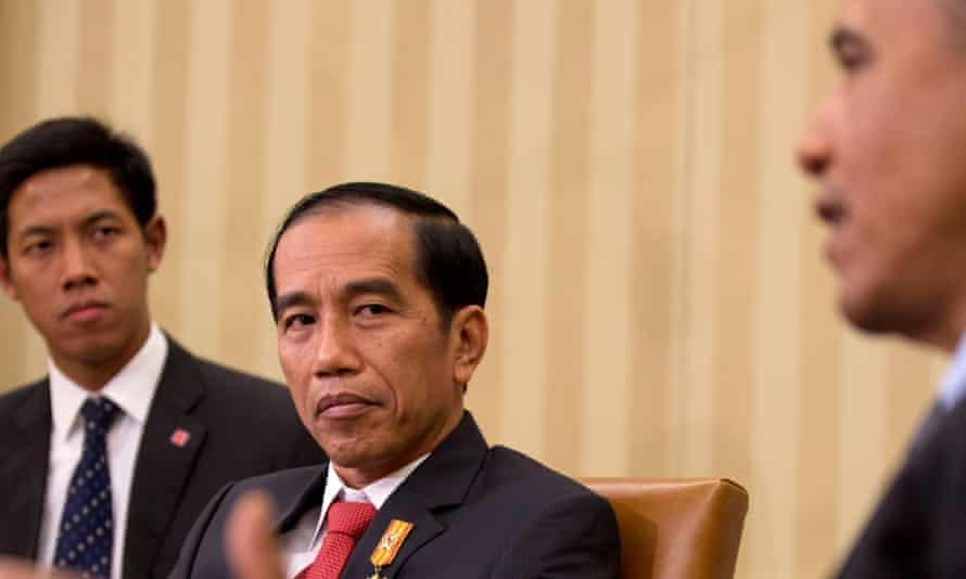 Joko Widodo has told Barack Obama that Indonesia will join the Trans-Pacific Partnership.