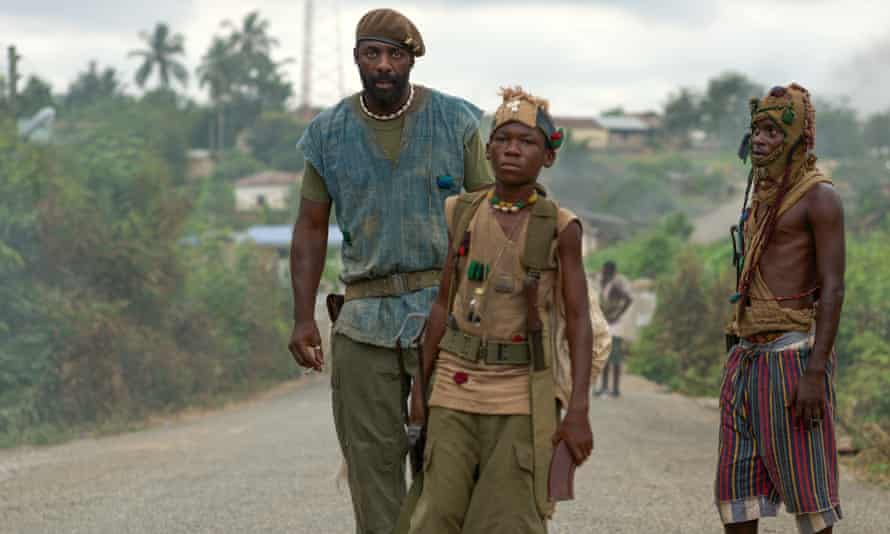 A scene from the Netflix film Beasts of No Nation