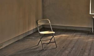 chair in empty room
