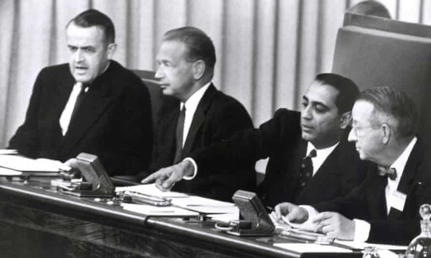 Atoms for Peace conference in Geneva, 1955.