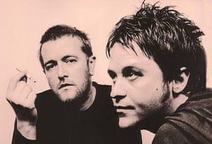 Photograph of Guy Garvey and Mark Potter
