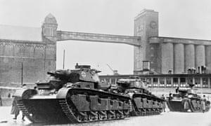 German Tank in Norway
