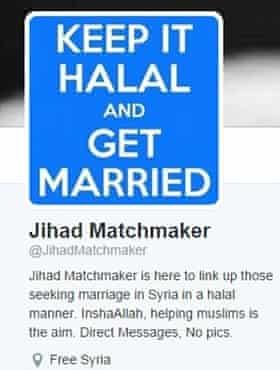 Jihadi matchmaker
