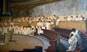 cicero roman senate fresco