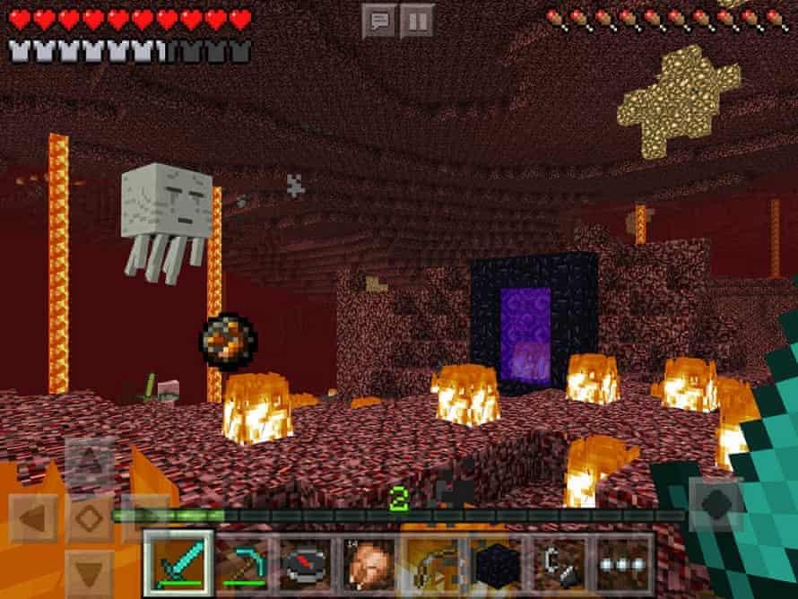 Minecraft: Pocket Edition.