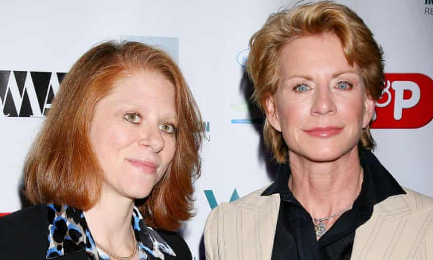 Patricia Cornwell with partner Staci Gruber. The couple were married in 2005.